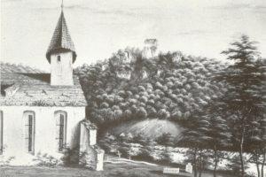 Galluskirche um 1835